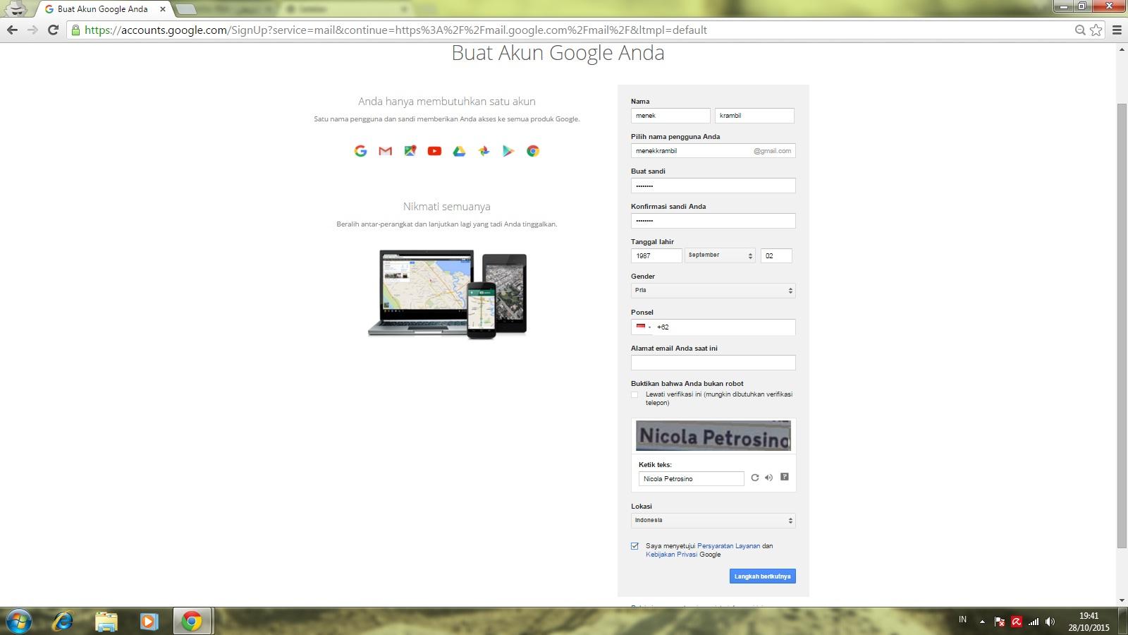 Tips dan Cara Membuat Gmail Tanpa Verifikasi Handphone