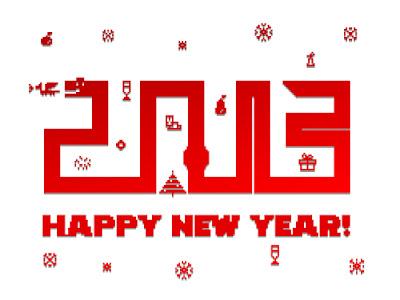 Kartu Ucapan Tahun Baru Terbaik 2013