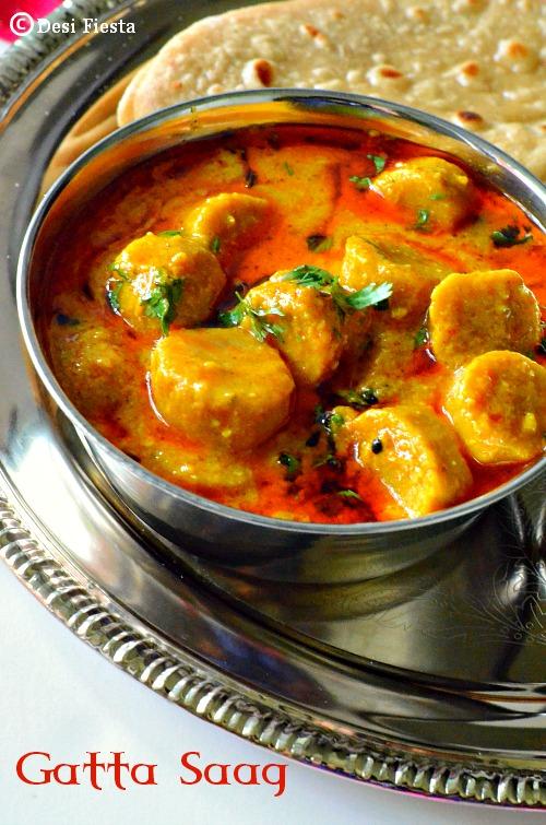Indian sabzi and gravy