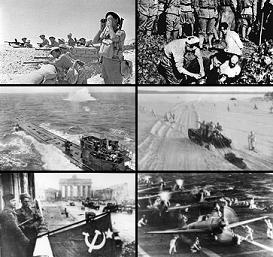 SEGUNDA GUERRA MUNDIAL (01/09/1939 - 02/09/1945 (6 años, 1 día))