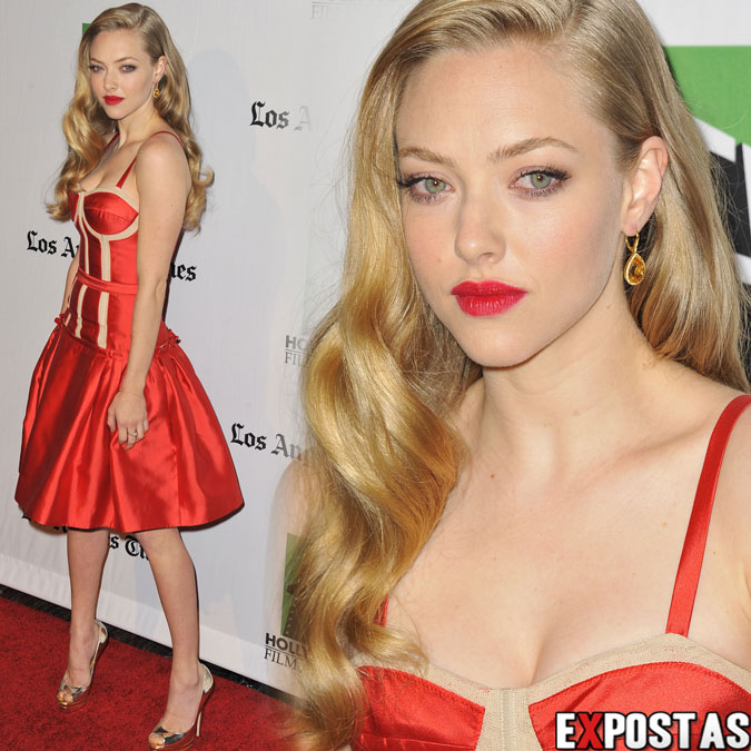 Amanda Seyfried: 16th Annual Hollywood Film Awards Gala no The Beverly Hilton Hotel em Beverly Hills - 22 de Outubro de 2012
