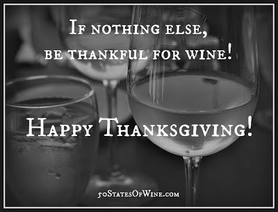 Be Thankful for Wine