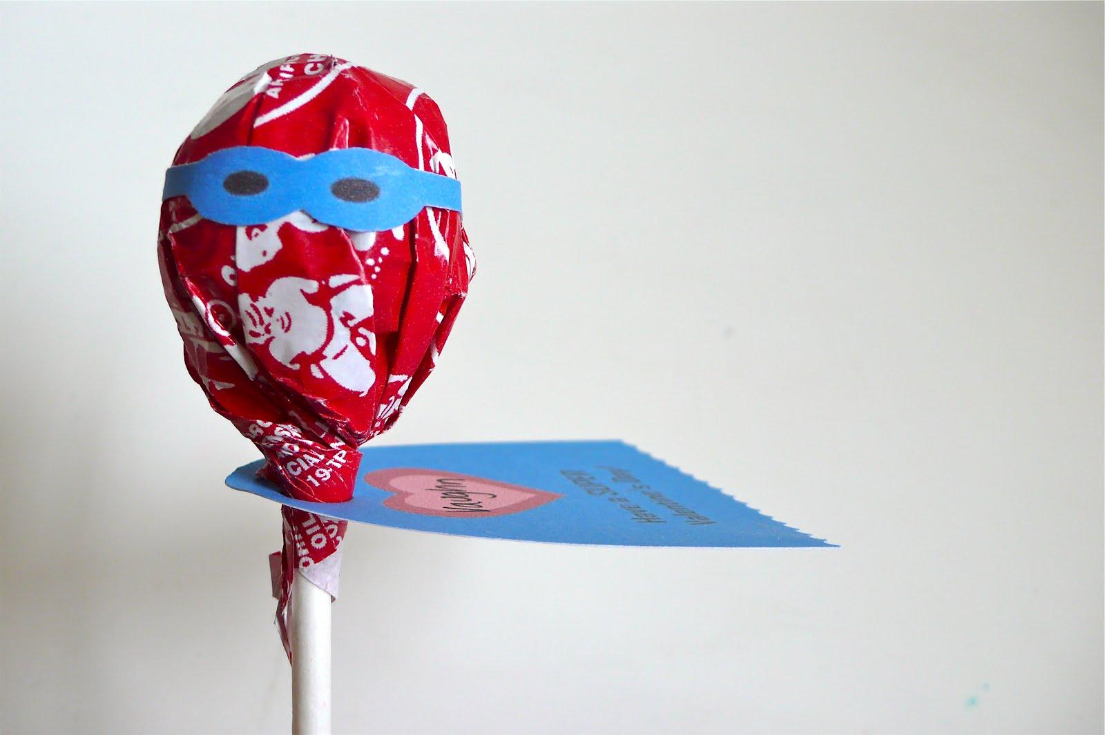 Mleballard Family From Pinterest Superhero Lollipops
