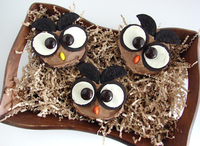 A Cute Hoot Open Faced Whoopie Pies @katrinaskitchen