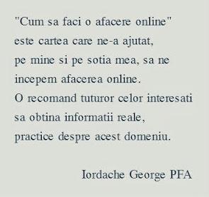 George spune