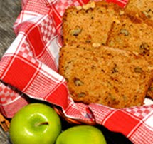 Fresh Apple Nut Bread