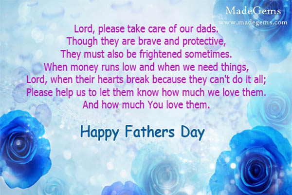 Beautiful Happy Father's Day Prayer Message