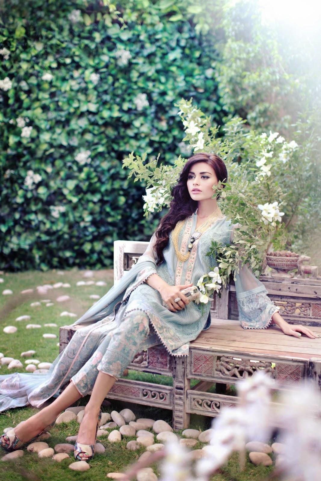 Pakistani Designer Shawar Kameez by Shehla Chatoor