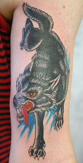 sailor jerry wolf head  Major fun on th...