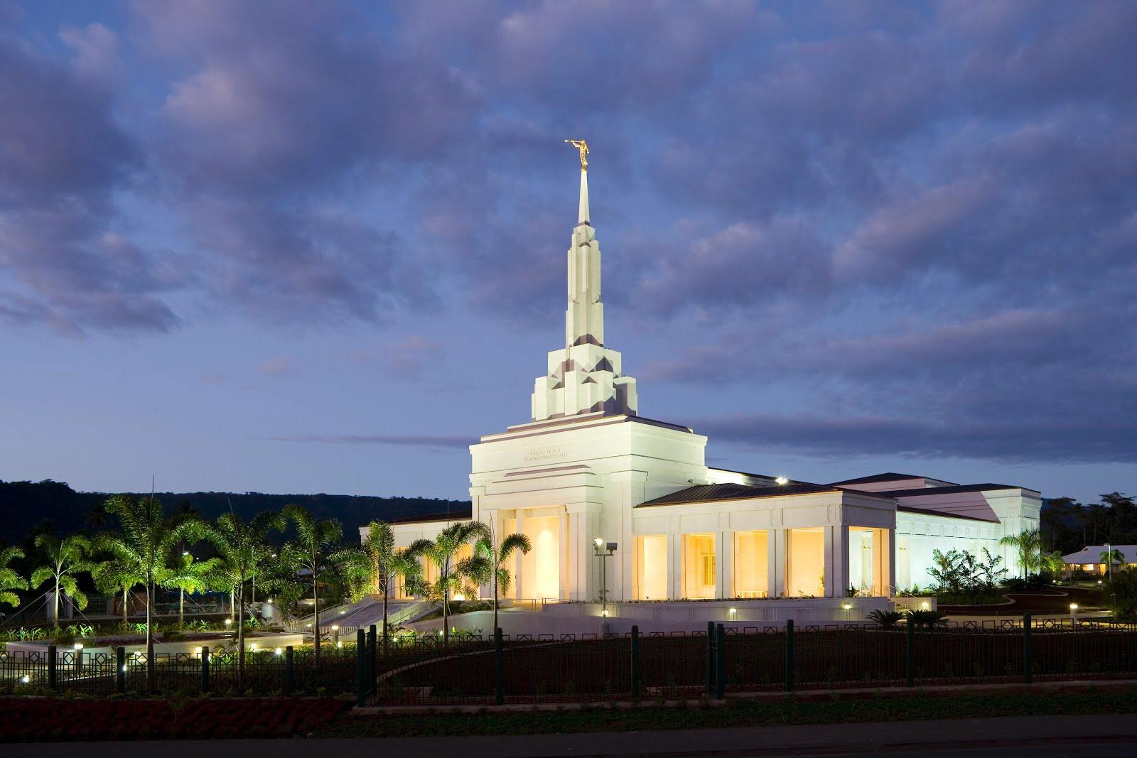 Samoa Apia Temple