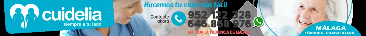 CUIDELIA · 952 122 328 · Cuidado de mayores en Málaga