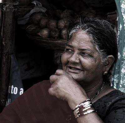 "Smiling Lady clicked by ""Isha Trivedi"""