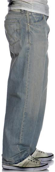 ◆ Vintage Worn Silver Tab Jeans Baggy Levi For Men ...