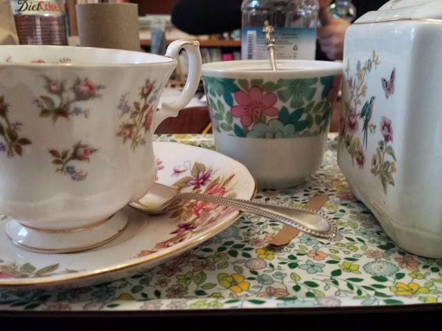 Erica Vonderwall Teacups
