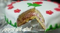 şeker hamuru pasta