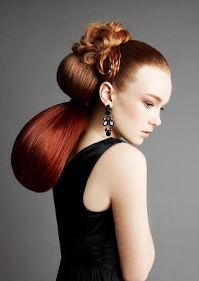 Neue Ideen für Ihr Haar rot 2013