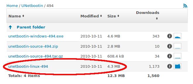 Unetbootin NTFS usb