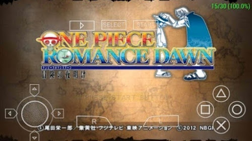 Game PSP One Piece Romance Dawn CSO For Emulator Android
