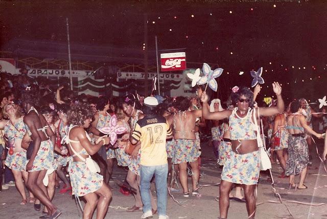 Carnaval Santa Luzia 1991 - Bloco das Borboletas