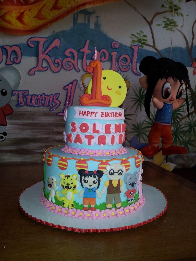 Emily Bakes Cakes Ni Hao Kai Lan Birthday Cake