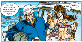 Bernard Prince, Integral 1 de Herrman y Greg, edita Ponent Mon aventuras comic barco