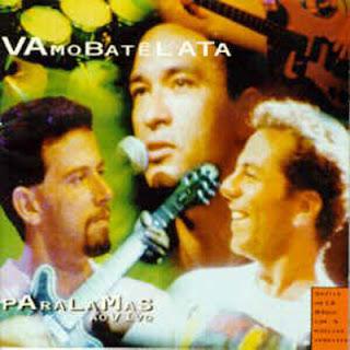 Paralamas do Sucesso - Vamo Batê Lata - capa do disco