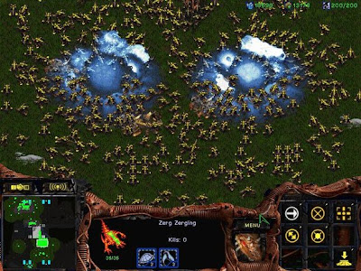 zerg rush in starcraft