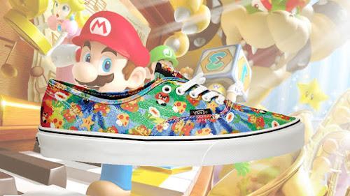 Nintendo e Vans lançarão Tênis Temáticos ! Sera Verdade !
