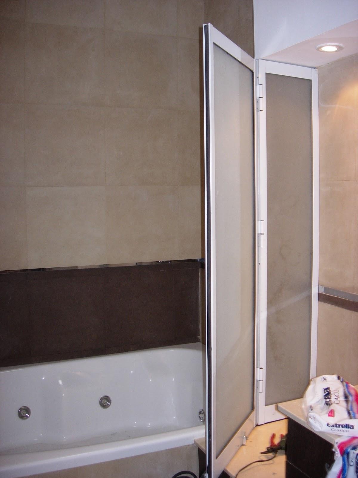 Baño Con Ducha Escocesa: de Aluminio): mampara para baño, yacussi y ducha escocesa