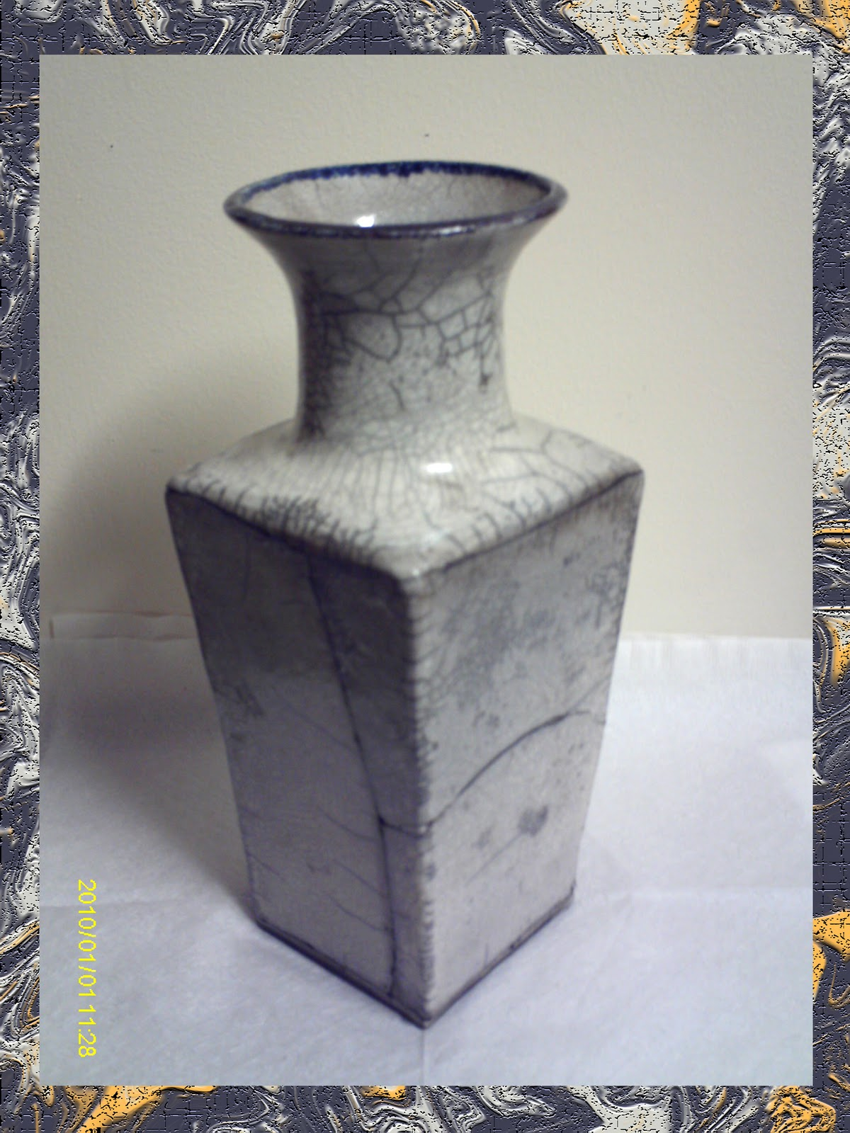 Learning ceramics handbuilding techniques the slab method for my raku piece i decided to make a slab vase as well i first started by cutting out patterens for the individual slabs a long trapezoid for the sides reviewsmspy