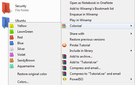 Cara Merubah Warna Folder di Windows