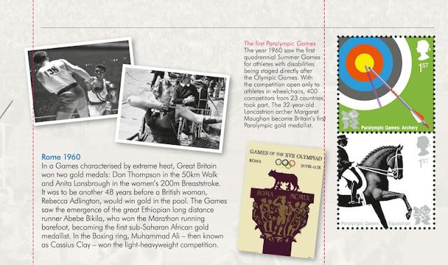 Olympic Prestige Book - pane 3 Rme 1960.
