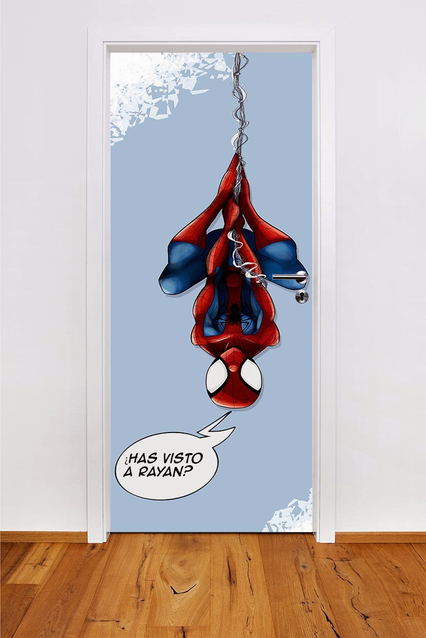 puerta-infantil-spiderman