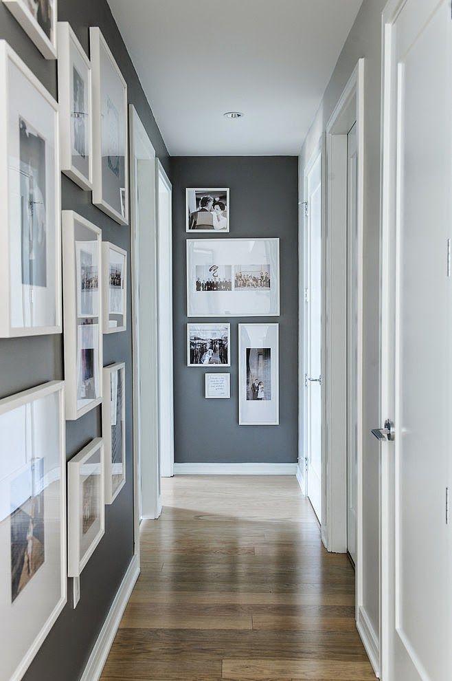 5 trucos infalibles para alegrar pasillos estrechos y oscuros 4brujillasymedia decor - Como decorar un pasillo estrecho ...