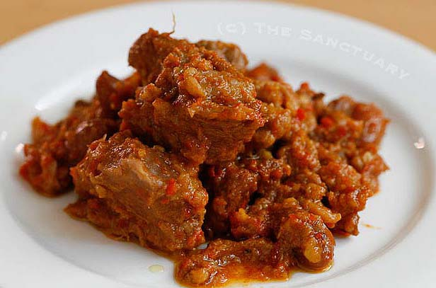 CNN: World`s most delicious cuisine Rendang, Tambo Cie Dah ...