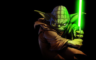 Yoda Star Wars Lightsaber HD Wallpaper