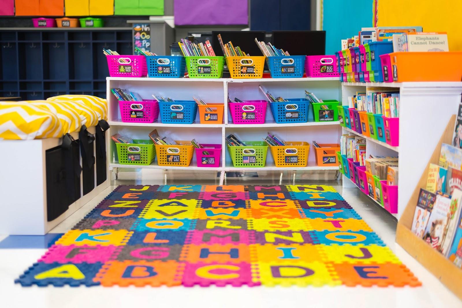 Classroom Library Design ~ Classroom reveal first grade made