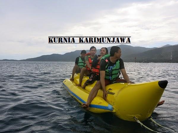 banana boat karimunjawa