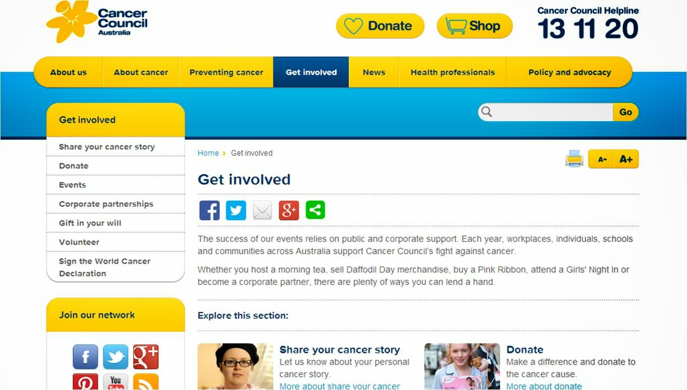 Australia's Biggest Morning Tea ~ Help the Cancer Council find a Cure for Cancer!