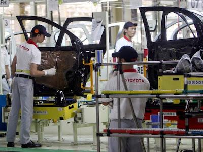 Fábricas da Toyota