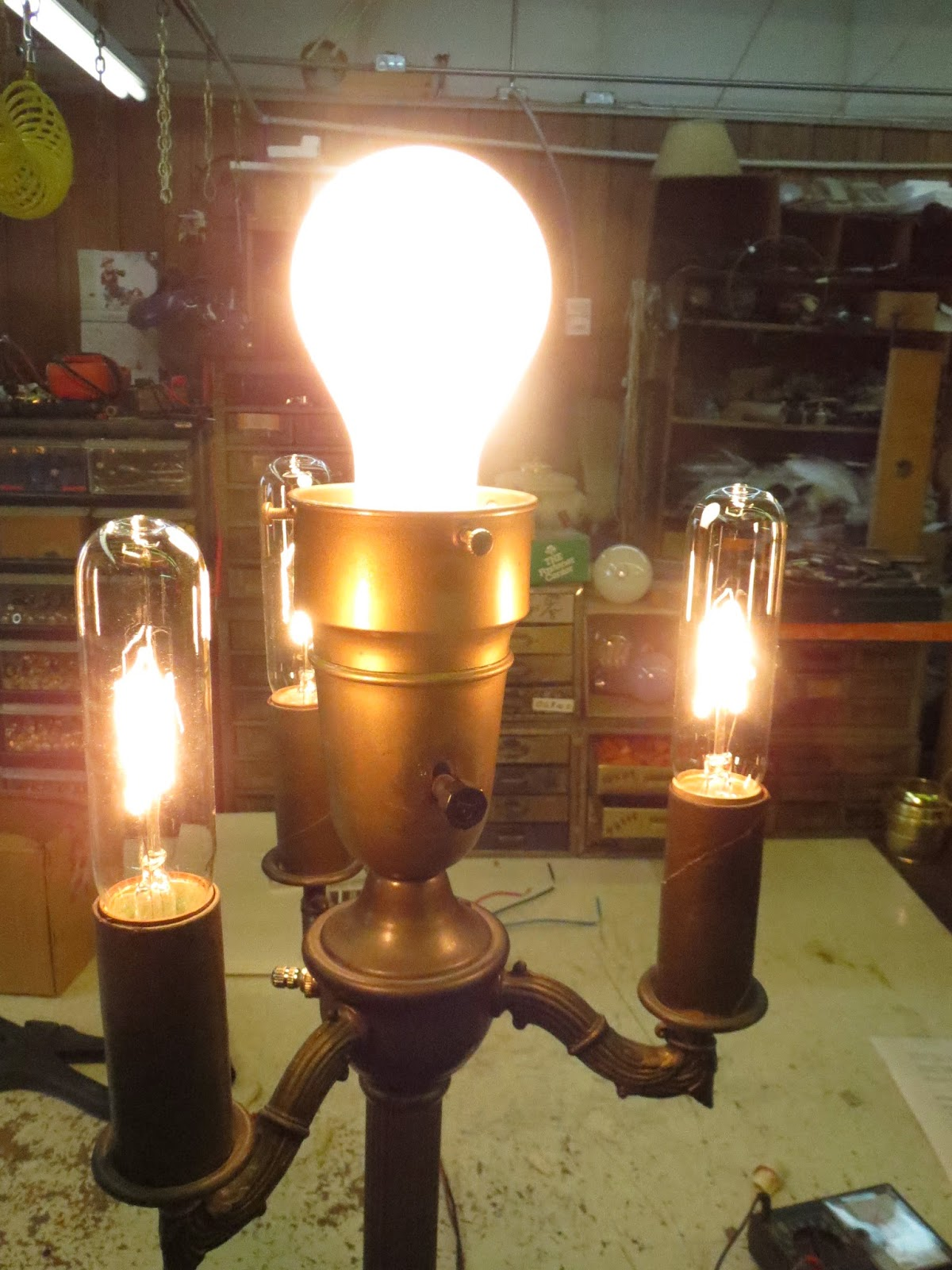 Lamp parts and repair lamp doctor broken antique brass this lamp is ready total cost 000 total time 30 minutes greentooth Choice Image