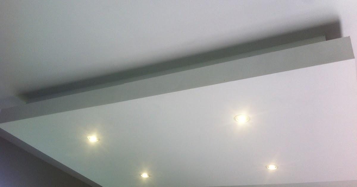 Electricité: Eclairage faux plafond