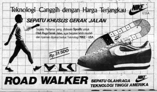 Iklan Retro Indonesia Iklan Sepatu Nike