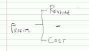 Profits, Revenue and Cost
