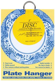 plate hanger disc