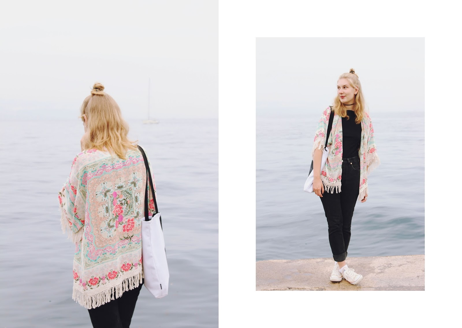 youarethepoet, filipa canic, you are the poet blog, filipa canic blog, romwe, sea, opatija, kimono,
