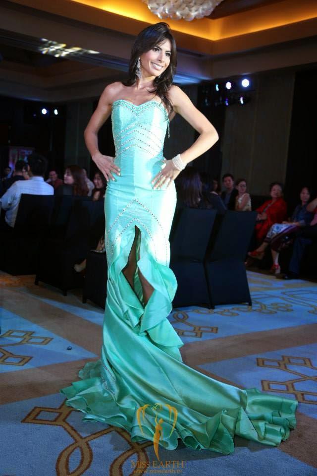 miss ecuador 2014 evening gown
