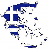 그리스 지도 국기