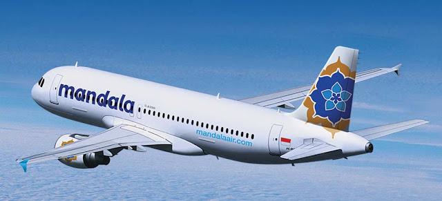 Foto Gambar Pesawat Terbang Mandala Airlines 18