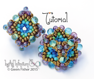 Beaded Cube Tutorial